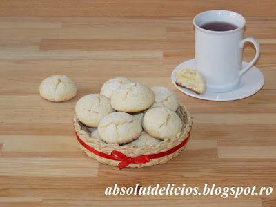 Absolut Delicios - Retete culinare: FURSECURI CRAPATE CU LAMAIE (LEMON CRINKLE COOKIES...