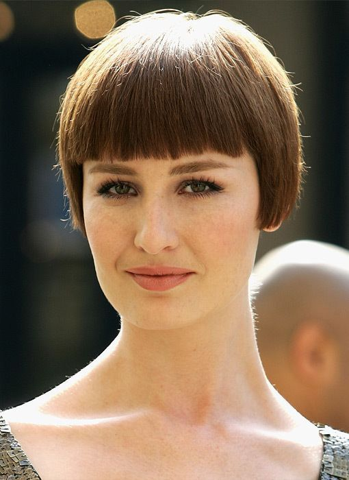 Erin O Connor Beautiful Bobs Pinterest Coiffures