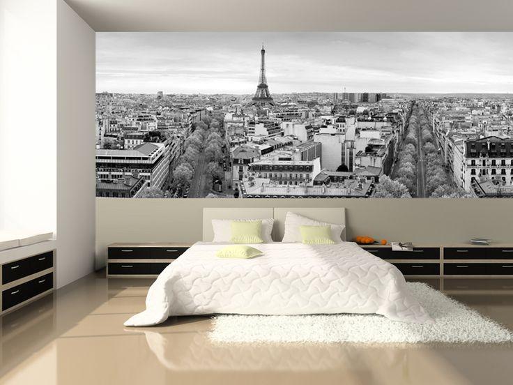 Paris wallpaper bedroom