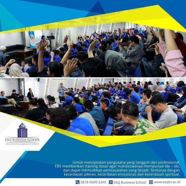 sekolah bisnis - Training Dasar dan Metode Pembelajaran Yang Diterapkan EBS, Bentuk Mahasiswa Menjadi Calon Pengusaha Handal