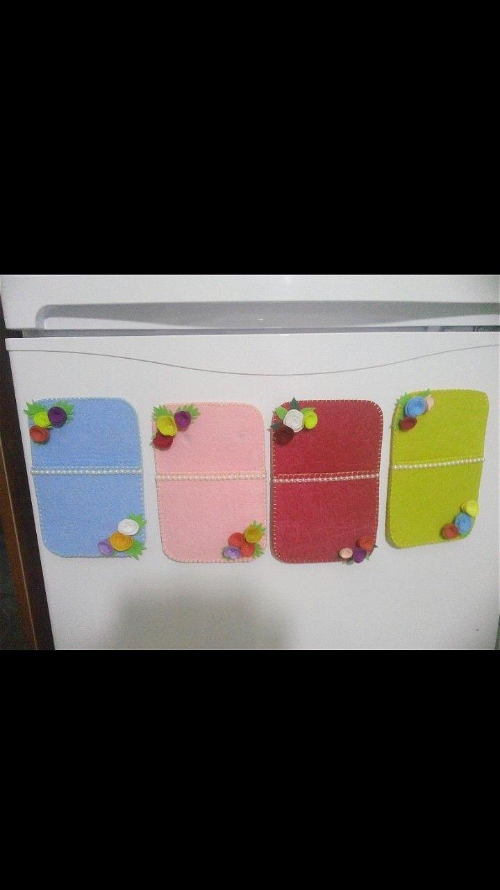 Keçe buzdolabı cebi
