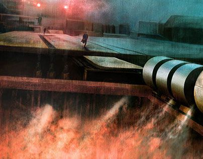 "Check out new work on my @Behance portfolio: ""Blade Runner"" http://be.net/gallery/43593171/Blade-Runner"