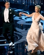 Channing Tatum, Charlize Theron Dance to Seth MacFarlane's Oscars Opening Number - my life is complete