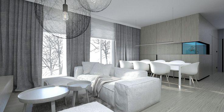 Apartment in Lodz / Projekt wykonawczy aranżacji wnętrz apartamentu w Łodzi.