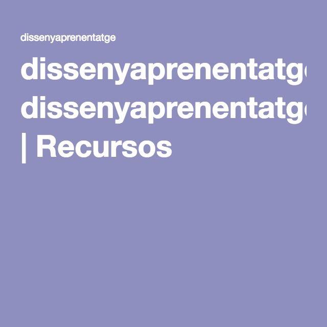 dissenyaprenentatge | Recursos