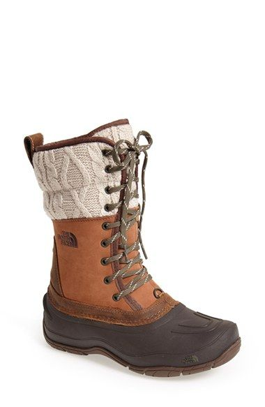 These are exactly what I was looking for. The North Face 'Shellista' Waterproof Mid Boot (Women) available at #Nordstrom