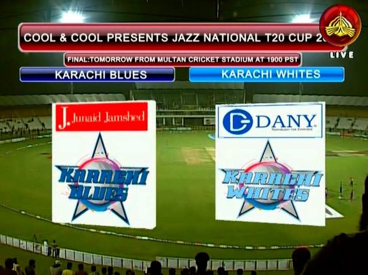 Get to watch today match Karachi Blues v Karachi Whites