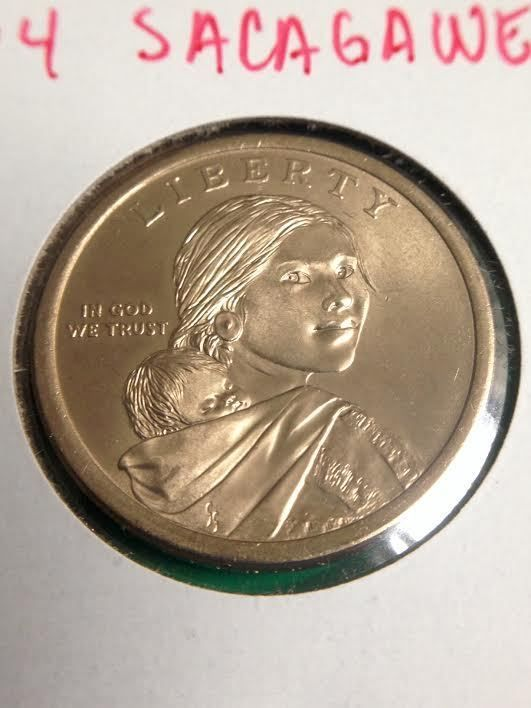 2014 Sacagawea Dollar (Native Hospitality)