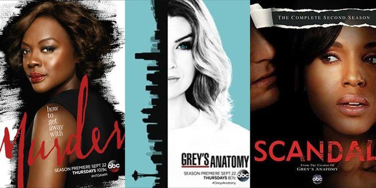 Os retornos de 'How to Get Away with Murder', 'Grey's Anatomy' e 'Scandal' foram adiados pela ABC