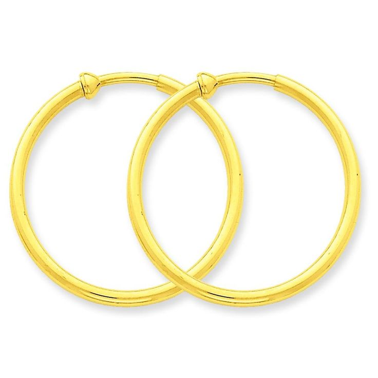 14K Yellow Gold Clip On Hoop Earrings Jewelry. Style- Clip On. Metal- 14K Yellow Gold. Origin- Turkey. Stamped- .585. Solid/hollow- Hollow.