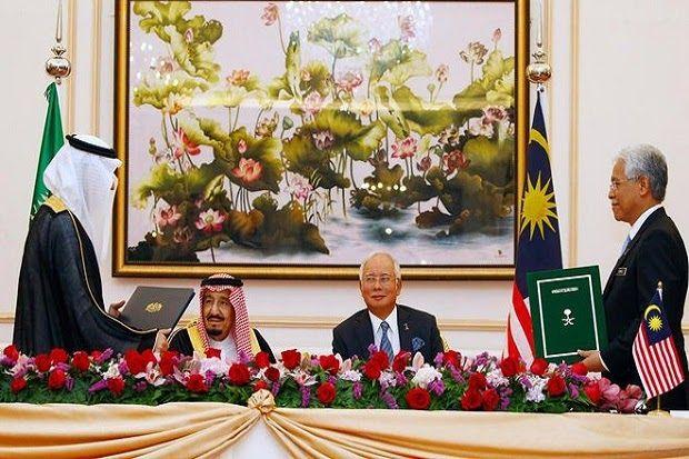 """FAKTA ! Sentimen Anti-China dan Investasi """"Gila-gilaan"""" Saudi di Malaysia...."""