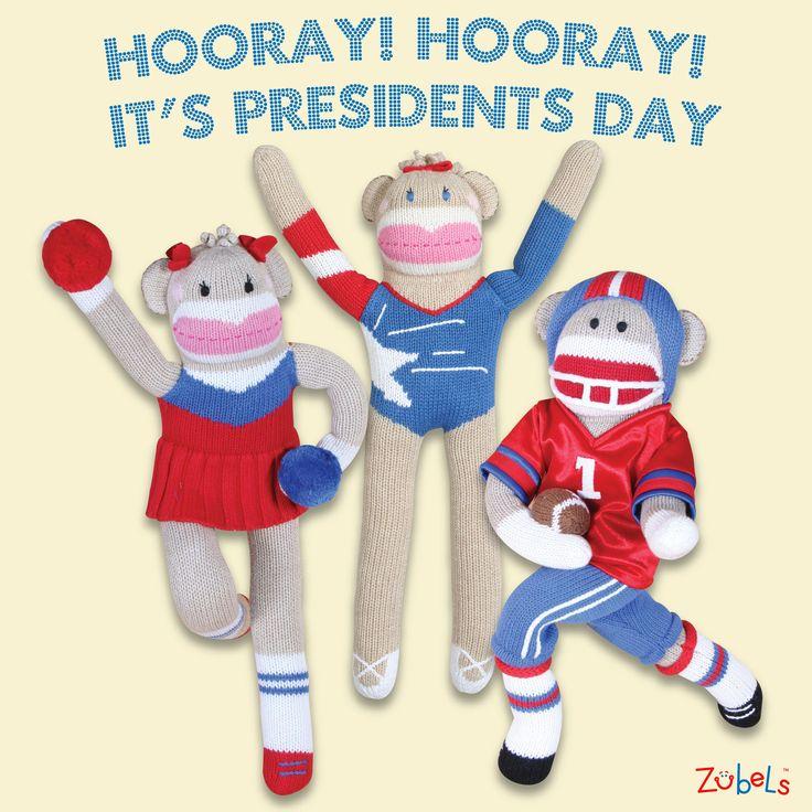 Happy Presidents' Day!! Zubels Jock Monkeys #zubels ...