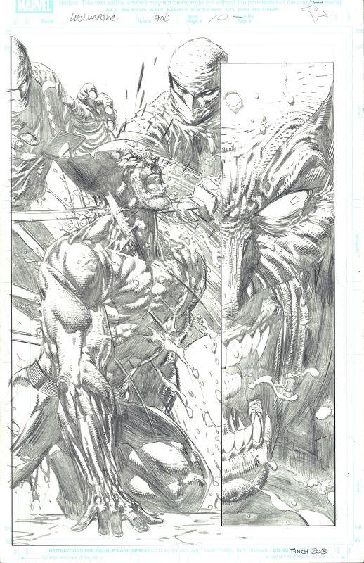 Wolverine #900 p.10 by David Finch, in DavidT's Original Art Comic Art Gallery Room - 1006551