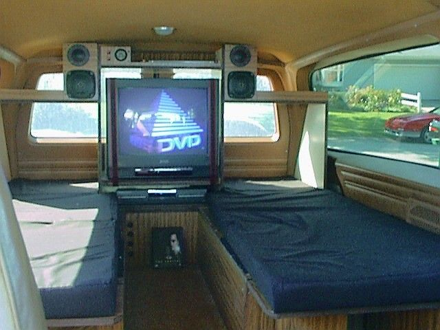 Sleeping Inside A Suburban Google Search Camping In A
