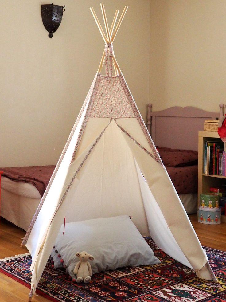 die besten 25 tipi fille ideen auf pinterest tipi bebe. Black Bedroom Furniture Sets. Home Design Ideas