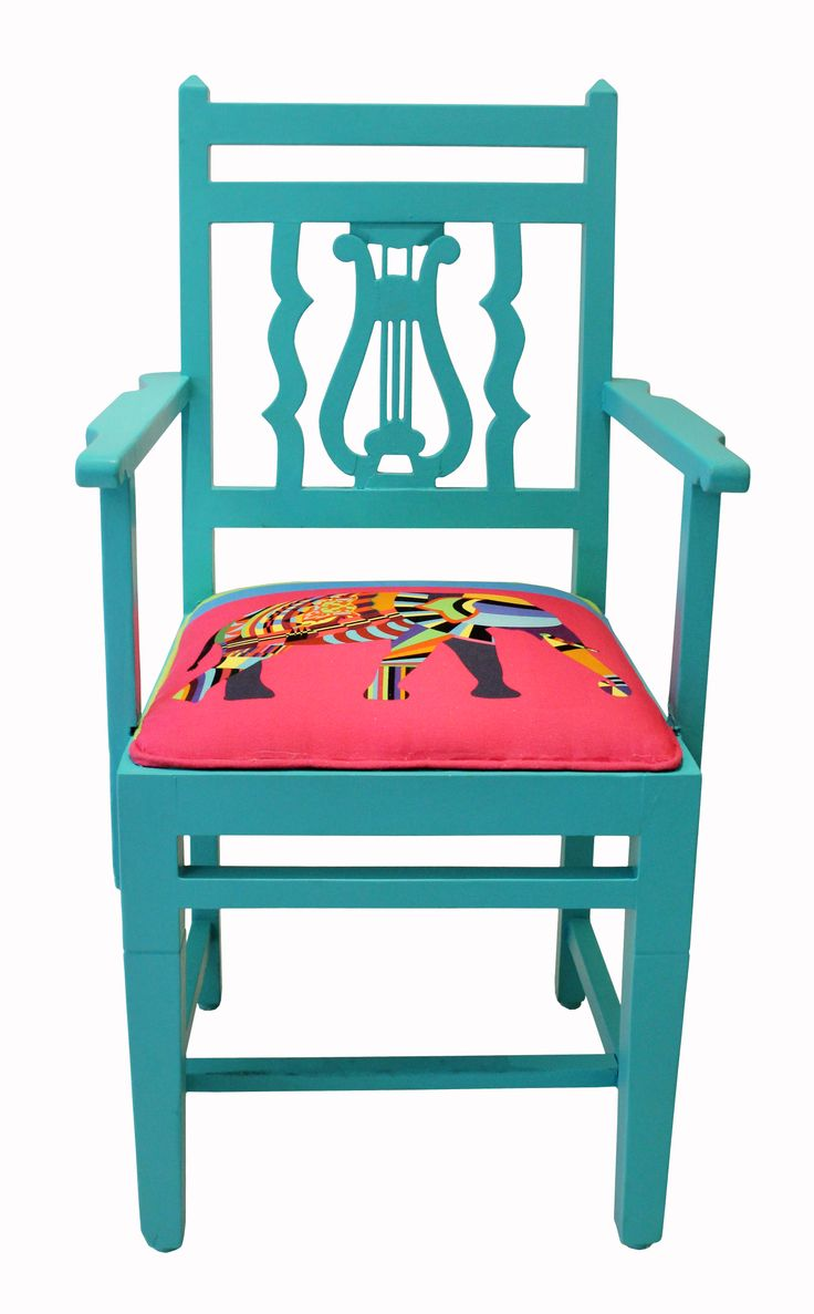Elephant Vintage Car Teak Wood Chair