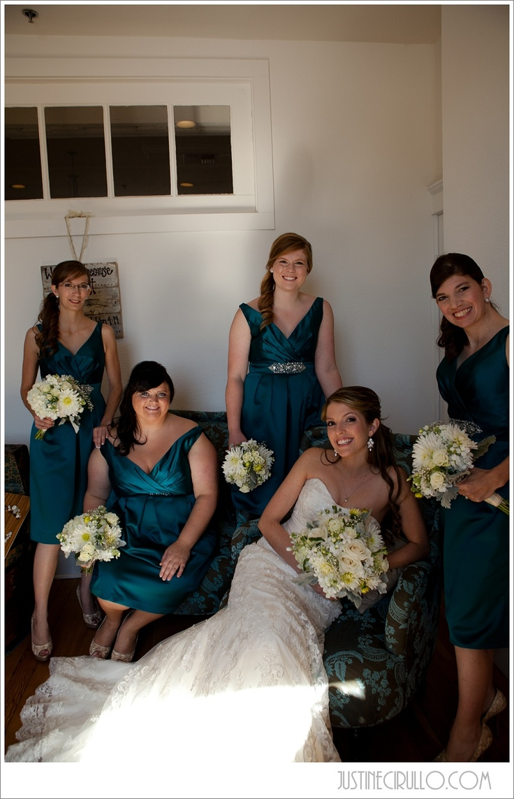 lace wedding dress vintage wedding teal bridesmaid dresses