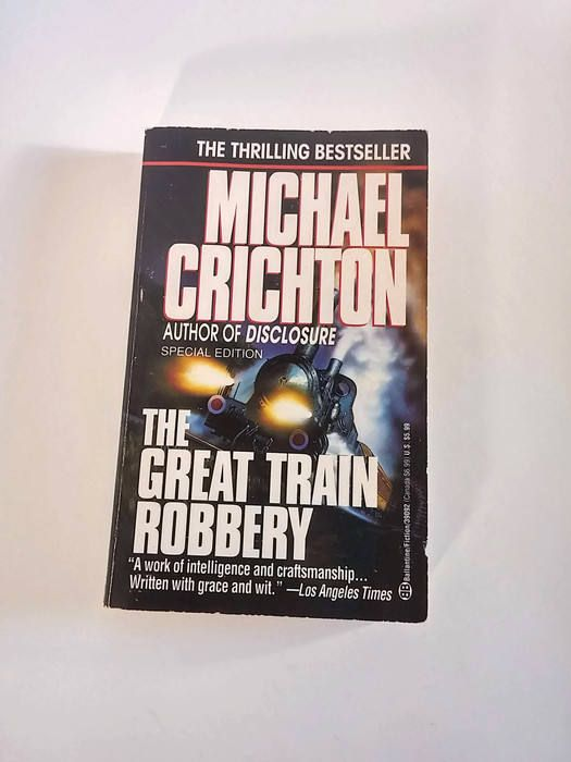 The Great Train Robbery by Michael Crichton  Paperback  Thriller by SamsOldiesButGoodies on Etsy