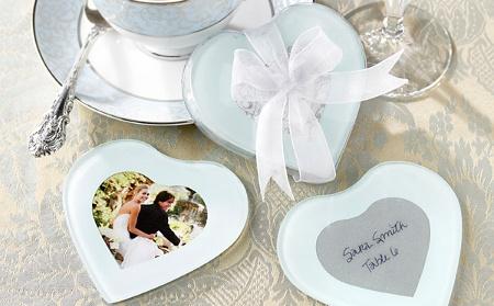 ideas-de-souvenirs-para-casamientos.jpg: Wedding Favors, Heart Shape, My Heart, Glasses Coasters, Coasters Favors, Coasters Sets, Heart Photo, Photo Coasters, Glasses Photo