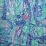 Ellen van Randeraat - schilderen op zijde