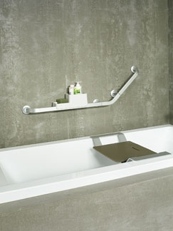 Superior ... Aluminum And Plastic, Itu0027s Ideal For People Who Value Safety Alongside  Aesthetics. The Collection Encompasses A Stool, A Folding Shower Seat, A  Bathtub ...