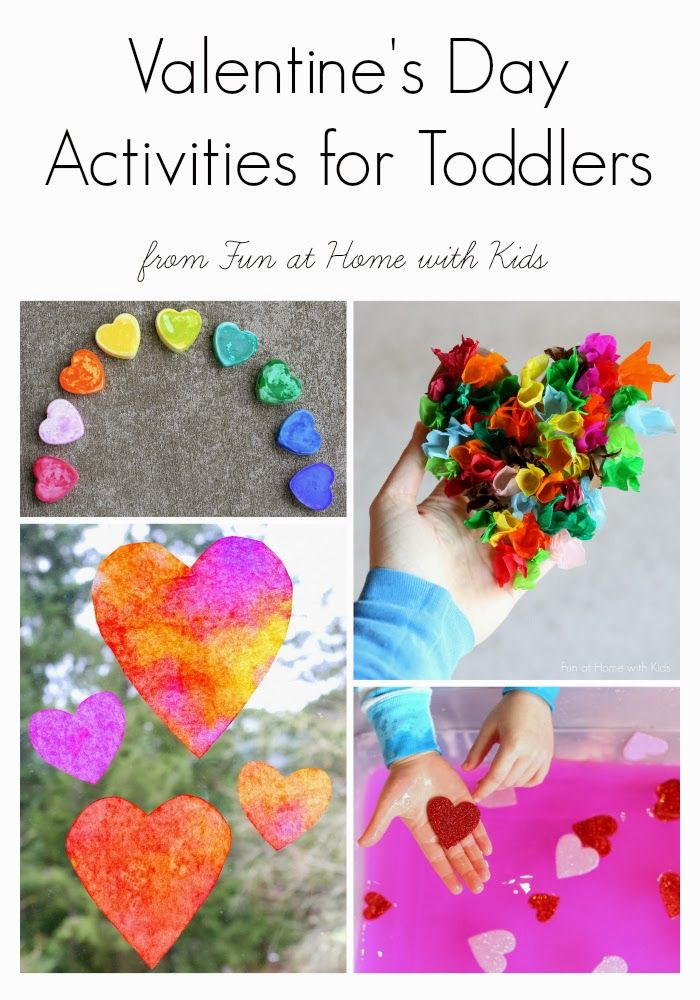14 Valentine's Day Activities for Toddlers and Preschoolers from Fun at Home with Kids