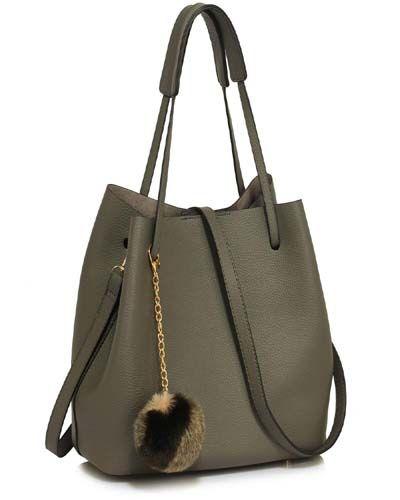 b17b52ddd Hobo Bag Faux-Fur Charm For Girls 2019 | Hand bag in 2019 | Bags ...