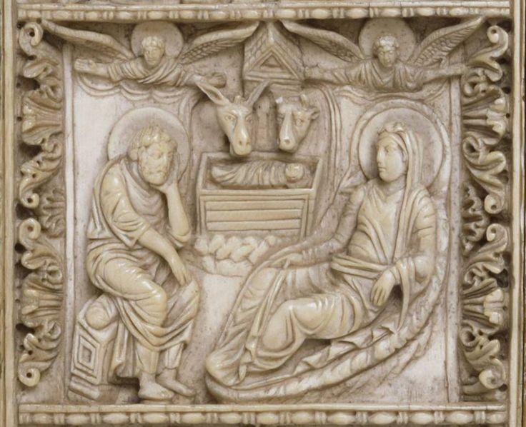 С Рождеством Христовым! - Аще не Господь созиждет дом, всуе трудишася зиждущии.  Ранневизантийский рельеф