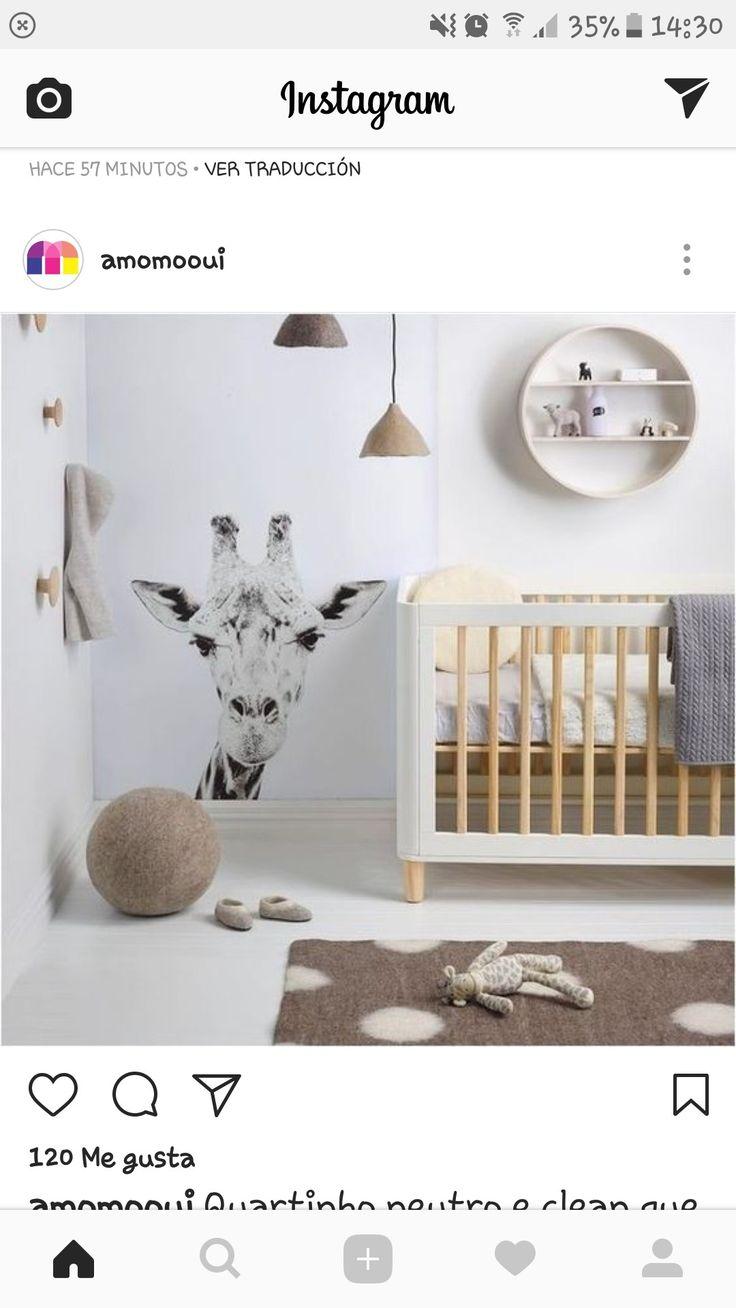 Habitacion de bebe neutra