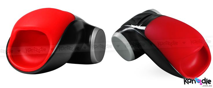 Fun Factory Cobra Libre (Black/Red) (Multi-angle pic) - http://bit.ly/1oGaxyg  #Kanoodle #masturbators #Australia