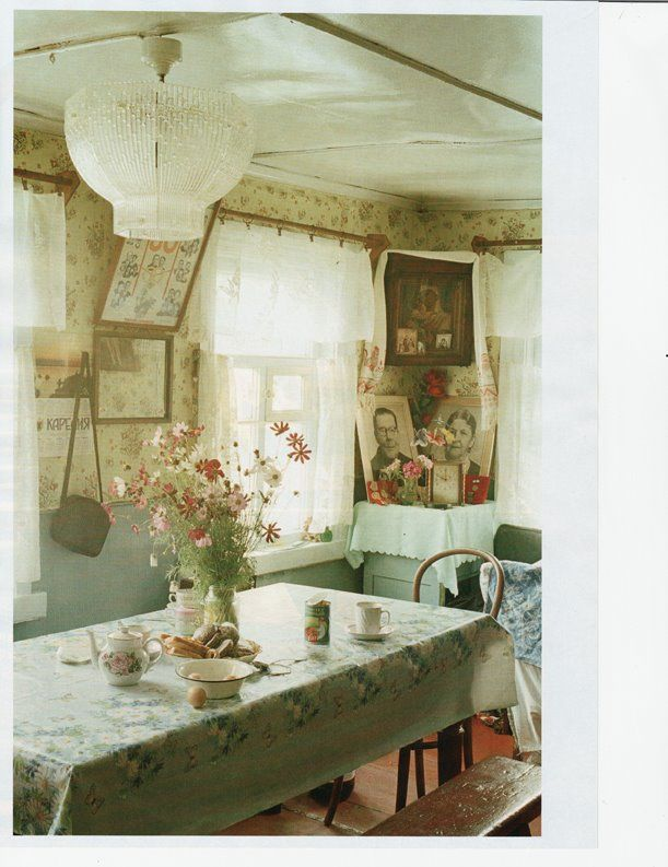 Tim Walker- Russian Homes