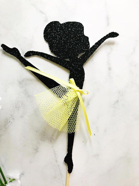 Emma Wiggle Cake Topper or Cupcake Topper Ballerina