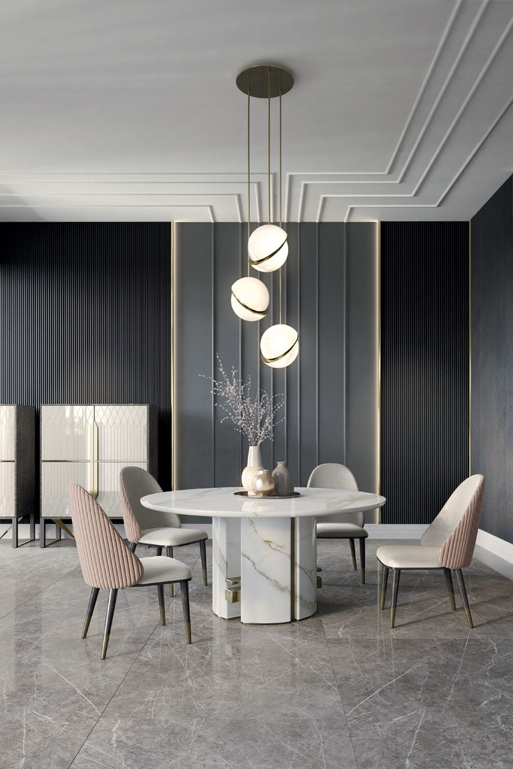 Friday Favourite And Coming Very Soon How Gorgeous Luxury Dining Room Dining Table Marble Round Marble
