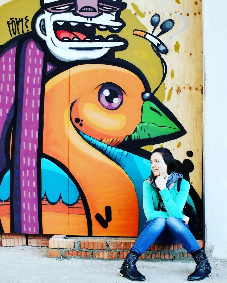 Cape Town graffiti and a dearest friend
