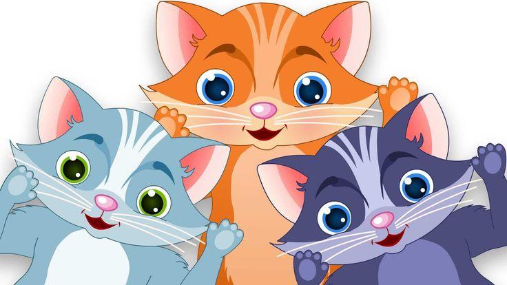 Три маленькие котята   Популярные детские стихи для детей #threelittlekittens #kidsrhymes #childrenrhymes #education #entertainment #parenting #songfortoddlers