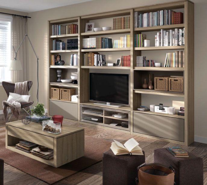 Ideas Para Decorar Librerías Y Estanterías Muebles Centro De Entretenimiento Muebles Para Casa Muebles Para Tv