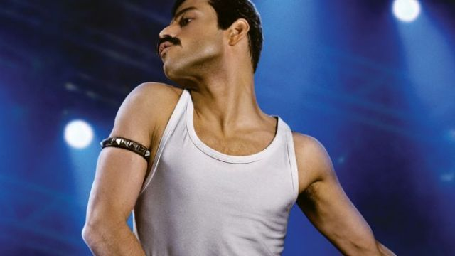 First Look at Rami Malek as Freddie Mercury in Bohemian Rhapsody!   First look at Rami Malek as Freddie Mercury in Bohemian Rhapsody  20th Century FoxNew RegencyandGK Filmshave released the first photo of star Rami Malek as Freddie Mercury in the upcoming Queen biopicBohemian Rhapsody. Check it out in the gallery below (via EW).  The film featuringX-Menfranchise directorBryan Singerat the helm chronicles the bands formation in 1970 all the way until their performance at Live Aid in 1985…