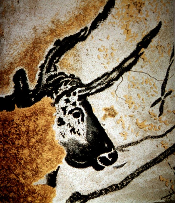 Head of the Great Bull, Lascaux, France