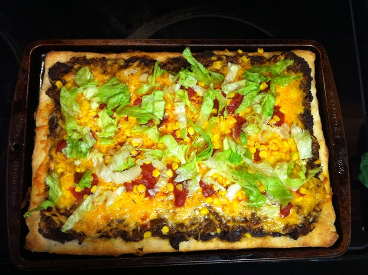 Mexican Pizza - Ole' | Culinary Treats | Pinterest | Mexican Pizza ...
