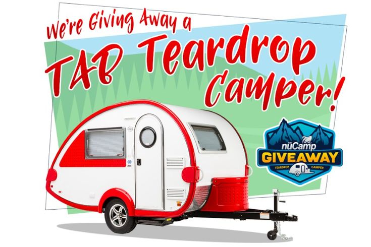 A Big Giveaway! A Chance To Win Your Own 2019 TAB Teardrop