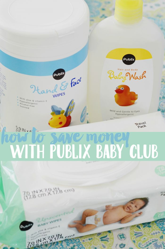 Use these tips to save money with Publix Baby Club for all your baby essentials #ParentLife #ad