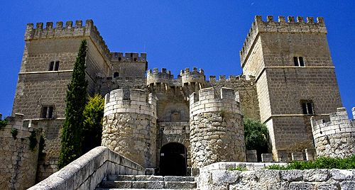 Castle of Ampudia, Palencia, Castile and León, Spain - www.castlesandmanorhouses.com