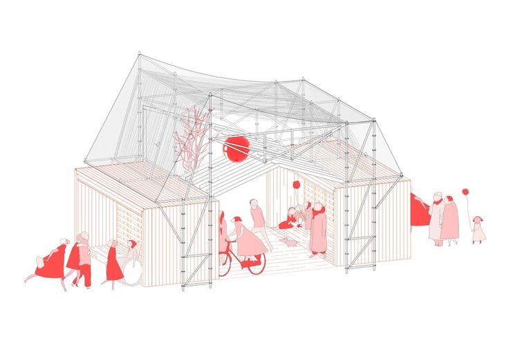 Gallery of A Scaffolding System for a Temporary Facility / Peris+Toral.arquitectes - 14