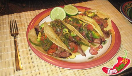 recipes for tacos images | Authentic mexican recipe for tacos de arrachera