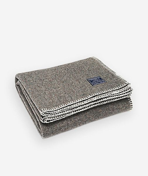 Eco meets style: Faribault'srecycled throws are the best of both worlds and at just $65, so affordable. A recycled wool blend gives the throw its unique heathe