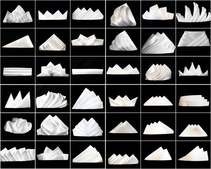How to Fold a Pocket Square in 36 Ways      Fold, Pocket Square36 pocket fold…