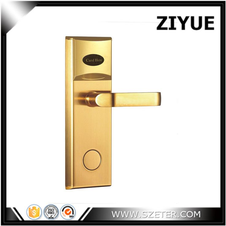 Discount! RFID proximity card  hotel door handle locks  For hotel room card lock system   ET101RF
