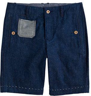 $159, J.Crew Wallace Barnes Vintage Denim Mattress Short. Sold by J.Crew. Click for more info: https://lookastic.com/men/shop_items/304946/redirect