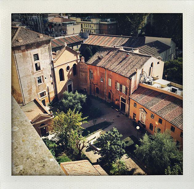 Tanterna i Rom, matresa, Trastevere, I huvudet på Elvaelva