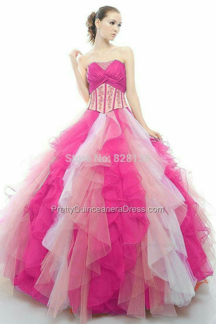 79 best Vestidos de Princesa images on Pinterest | Vestido de 15 año ...